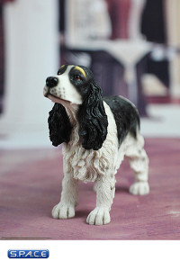 1/6 Scale black Springer Spaniel