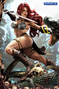 1/3 Scale Red Sonja She-Devil with a Vengeance Museum Masterline Statue (Red Sonja)
