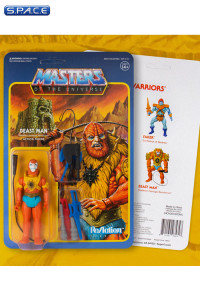 Beast Man with Weapons Pack ReAction Figure (Masters of the Universe)