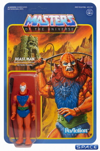 Beast Man »Leo Color« ReAction Figure (Masters of the Universe)