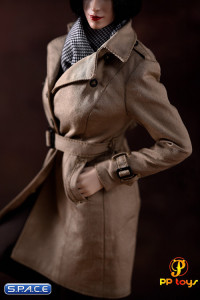 1/6 Scale black Female Agent Suit
