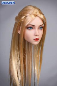 1/6 Scale Rose Head Sculpt (blue eyes / straight long blonde hair)