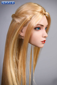 1/6 Scale Rose Head Sculpt (blue eyes / straight long blonde hair)