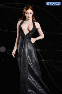 1/6 Scale black Marilyn Dress