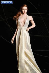 1/6 Scale golden Marilyn Dress