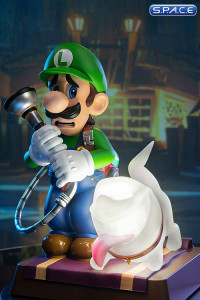 Luigi & Polterpup PVC Statue - Collector's Edition (Luigi's Mansion 3)