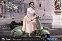 1/4 Scale Princess Ann & 1951 Vespa 125 Statue (Roman Holiday)