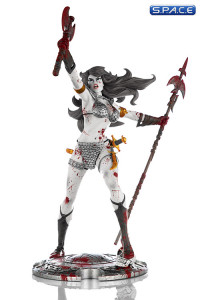 Red Sonja Beserker 45th Anniversary Black & White Statue (Red Sonja)