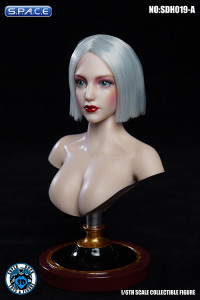 1/6 Scale Iris Head Sculpt with Make-Up (white hair)