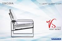 1/6 Scale Designer Chair (white)