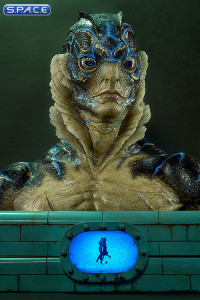 1:1 Amphibian Man Life-Size Bust (The Shape of Water)