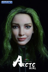 1/6 Scale Arctic Girl Head Sculpt