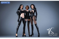 1/6 Scale Nun Leather Clothing Set with pants
