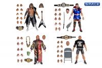Complete Set of 4: New Japan Pro Wrestling Wave 1 (NJPW)