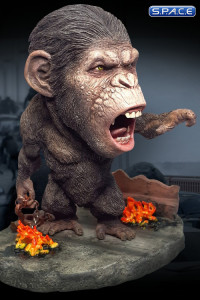 Caesar Deluxe Deformed Real Series Vinyl Statue (Rise of the Planet of the Apes)