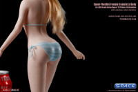 1/6 Scale female super-flexible seamless pale Body with medium breast with head sculpt