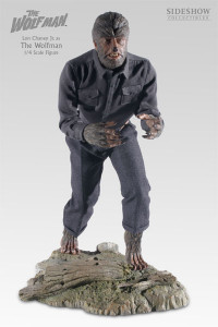 1/4 Scale Lon Chaney Jr. as Wolfman