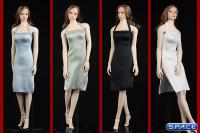 1/6 Scale neckholder Dress (grey)