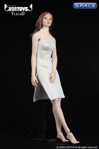 1/6 Scale neckholder Dress (white)
