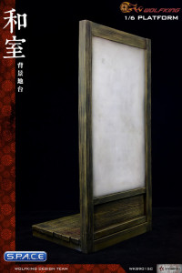 1/6 Scale Shoji Stand