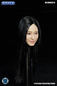 1/6 Scale Aimi Head Sculpt (long black hair)