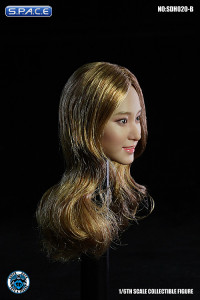 1/6 Scale Aimi Head Sculpt (long blonde hair)