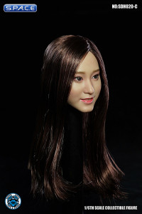 1/6 Scale Aimi Head Sculpt (long brown hair)