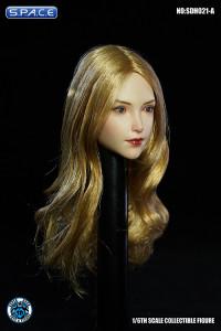 1/6 Scale Valaina Head Sculpt (long blonde hair)