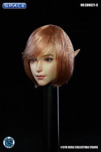 1/6 Scale Valaina Head Sculpt (short rose hair)