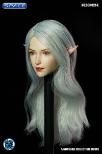 1/6 Scale Valaina Head Sculpt (long white hair)