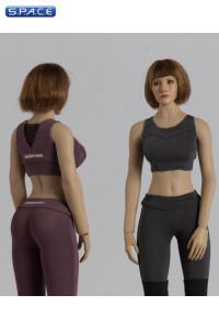 1/6 Scale Yoga Suit (purple)