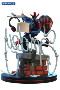 Miles Morales Spider-Man Q-Fig Elite Diorama (Marvel)