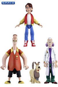 Complete Set of 3: Toony Classics Series 1 (Back to the Future)