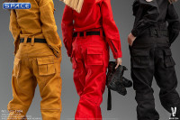 1/6 Scale Workwear Set (red)