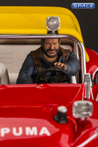 Bud Spencer on Dune Buggy Statue (Watch Out, We're Mad!)