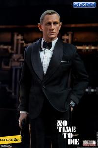1/6 Scale Secret Agent James with black Suit