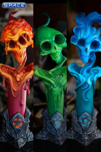 The Lighter Side of Darkness: Faction Candle Statue Set (Court of the Dead)