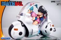 Goku & Bulma on Bulmas Capsule No. 9 Bike Statue (Dragon Ball)