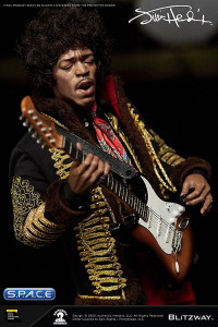 1/6 Scale Jimi Hendrix Ultimate Masterpiece Series