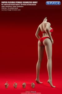 1/6 Scale female super-flexible seamless suntan Body with large breast / headless