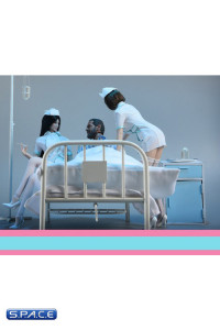 1/6 Scale Hospital Furniture Set
