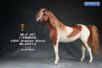 1/6 Scale Arabian Horse (red & white)