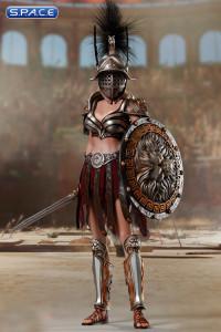 1/6 Scale Gladiatrix with black crista & Gladiator Decimus Set