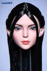 1/6 Scale Ilmare Head Sculpt (black hair)