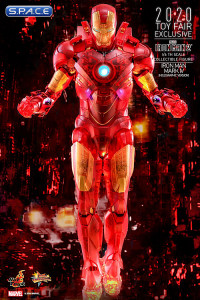 1/6 Scale Iron Man Mark IV Holographic Version Movie Masterpiece MMS568 Toy Fairs 2020 Exclusive (Iron Man 2)