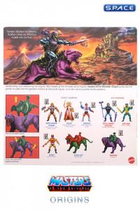 Panthor flocked Collectors Edition Exclusive (MOTU Origins)