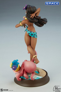 Island Girl Club Coconut Collection Statue