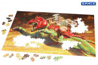 He-Man & Battle Cat 500-Piece Puzzle (Masters of the Universe)