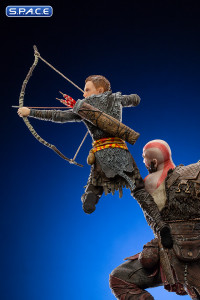 1/10 Scale Kratos and Atreus Deluxe BDS Art Scale Statue (God of War)