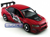 1:18 Scale 2002 Mitsubishi Lancer Evo. VII red (The Fast and...)